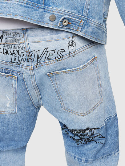 Diesel - D-Kodeck 0078F, Light Blue - Jeans - Image 5