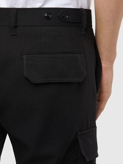 Diesel - P-SONG, Black - Pants - Image 4