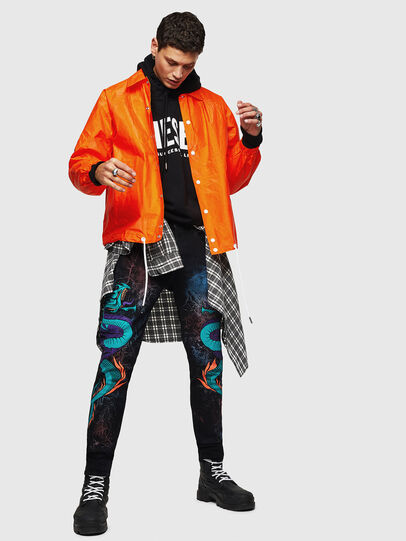 Diesel - J-AKINATOR-TVK, Orange - Jackets - Image 6