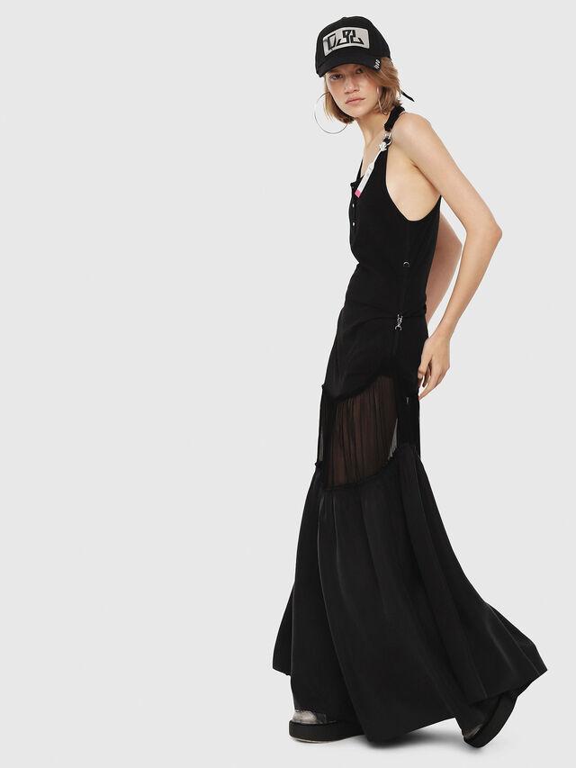 Diesel - D-SAIGE, Black - Dresses - Image 3