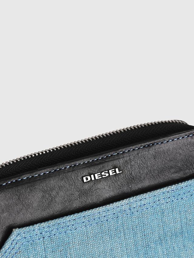 Diesel - BUSINESS II, Black/Blue - Small Wallets - Image 4