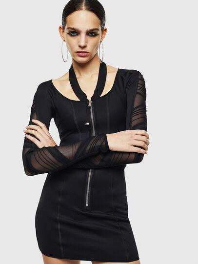 Diesel - DECH, Black - Dresses - Image 1