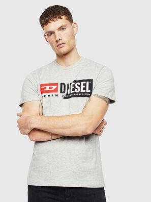 T-DIEGO-CUTY, Grey - T-Shirts