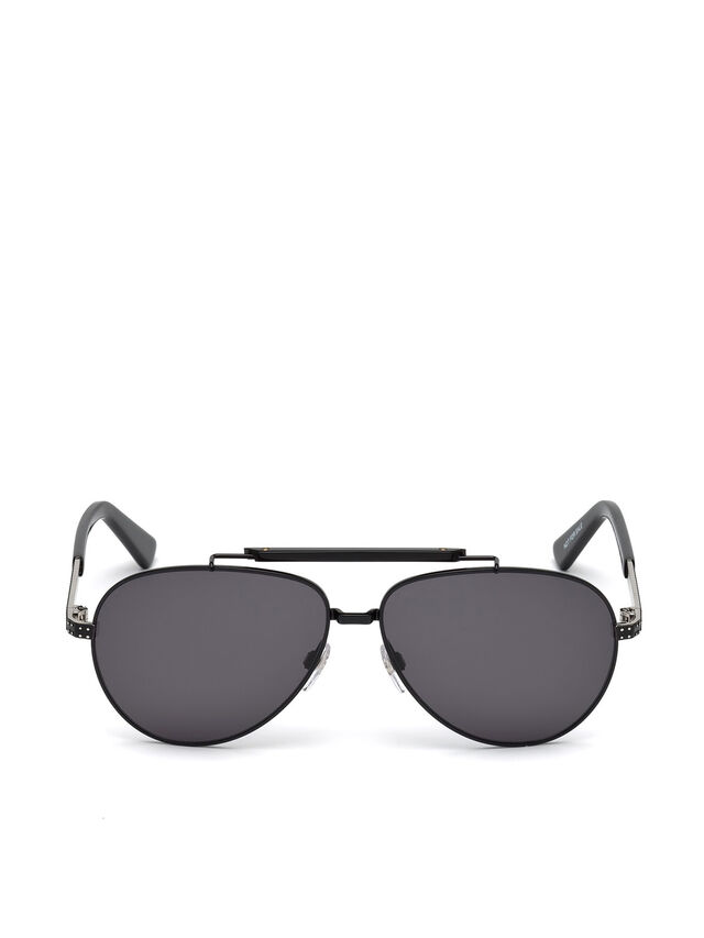 Diesel - DL0238, Black - Sunglasses - Image 1