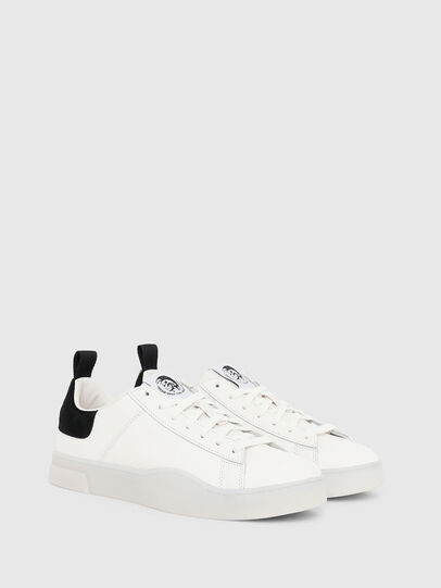 Diesel - S-CLEVER LOW LACE, White/Black - Sneakers - Image 2