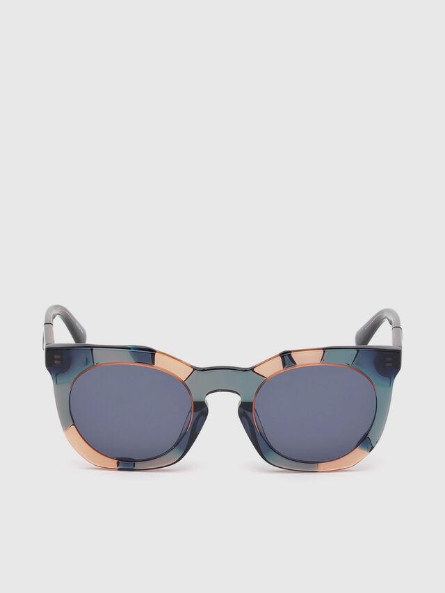 Diesel - DL0270, Green - Sunglasses - Image 1