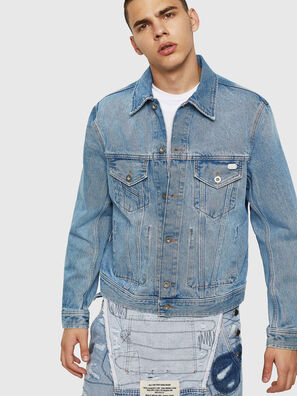 D-BRAY, Light Blue - Denim Jackets