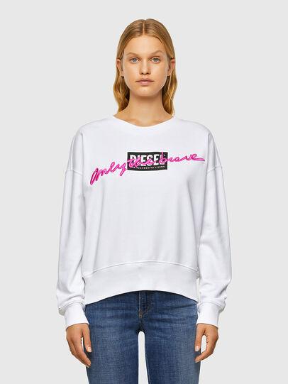 Diesel - F-MAGDA-V50, White - Sweaters - Image 1