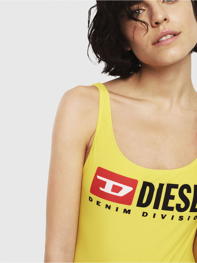 Diesel - BFSW-FLAMNEW, Yellow - Swimsuits - Image 3