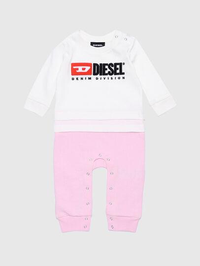 Diesel - JENGYDIV-NB, White/Pink - Jumpsuits - Image 1