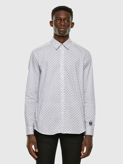 Diesel - S-RILEY-KA, White - Shirts - Image 4