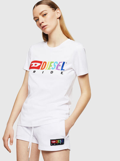 Diesel - UFTEE-SILY-INT,  - T-Shirts - Image 1