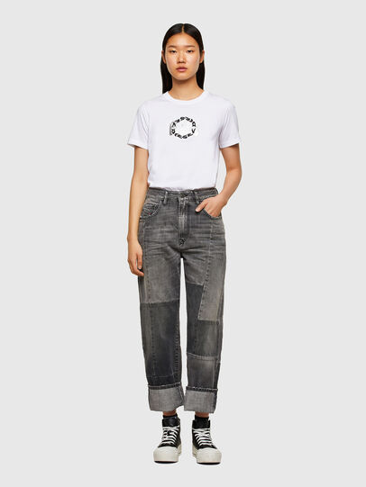 Diesel - T-SILY-R5, White - T-Shirts - Image 4