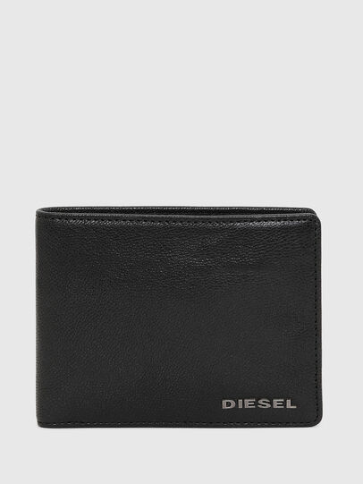 Diesel - NEELA XS, Black Leather - Small Wallets - Image 1