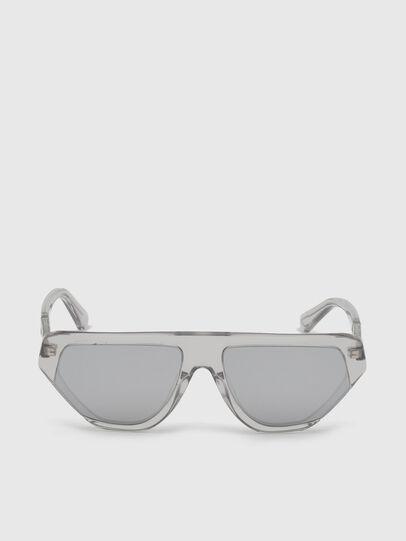 Diesel - DL0322, Grey - Sunglasses - Image 1