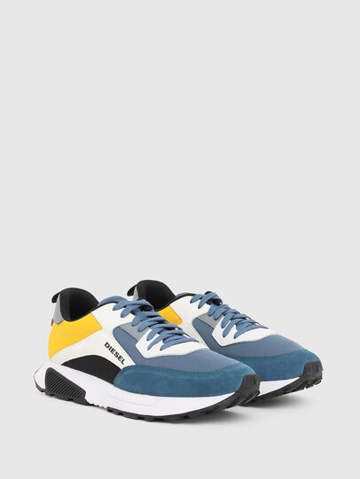 Diesel - S-TYCHE LOW CUT, Yellow/Blue - Sneakers - Image 2