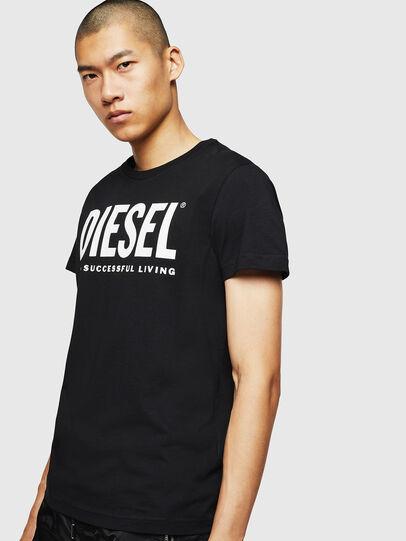 Diesel - T-DIEGO-LOGO, Black - T-Shirts - Image 1