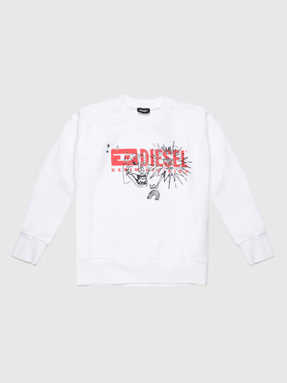 Diesel - SUNG OVER, White - Sweaters - Image 1