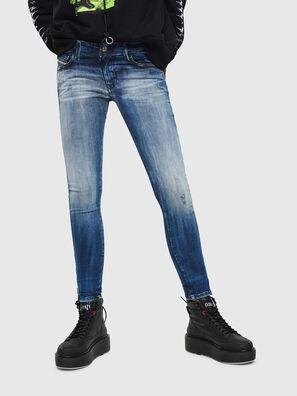 Slandy Low 0095C, Medium blue - Jeans