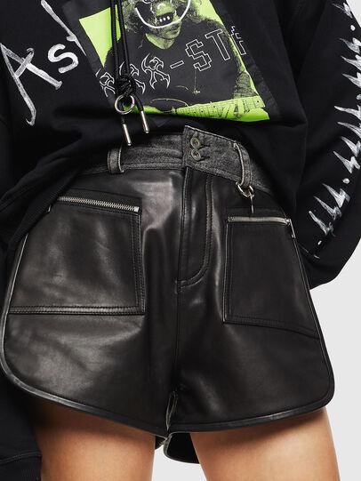 Diesel - L-FARA, Black - Shorts - Image 1