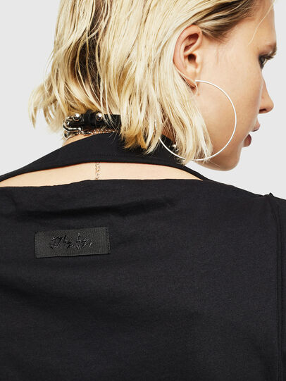 Diesel - T-KALY, Black - T-Shirts - Image 4