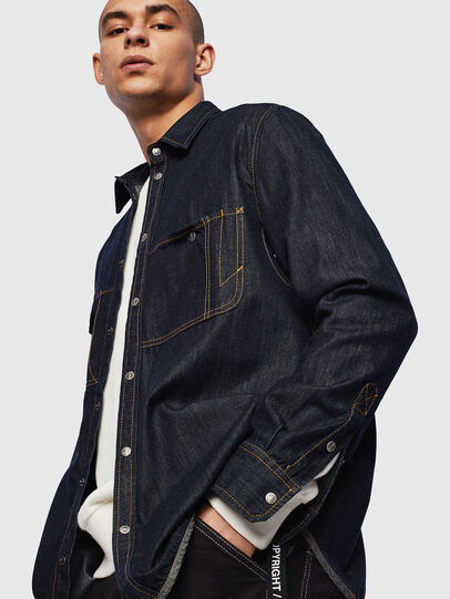 Diesel - D-MILLY,  - Denim Shirts - Image 4