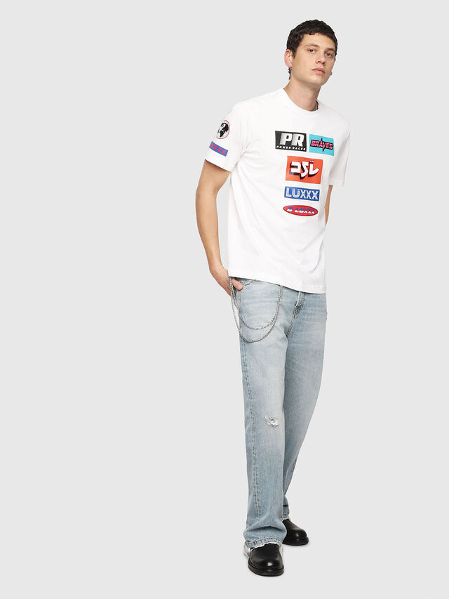 Diesel - T-JUST-YA, White - T-Shirts - Image 5