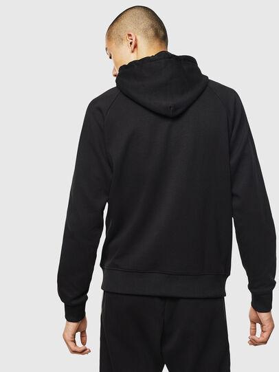 Diesel - S-GIMK-HOOD-J, Black - Sweaters - Image 2