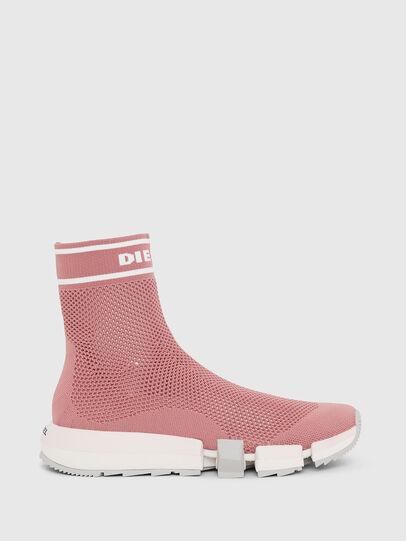 Diesel - H-PADOLA NET W, Pink - Sneakers - Image 1