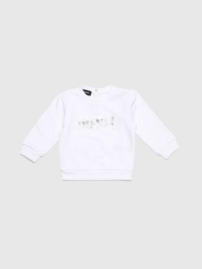 Diesel - SRALLYB, White - Sweaters - Image 1