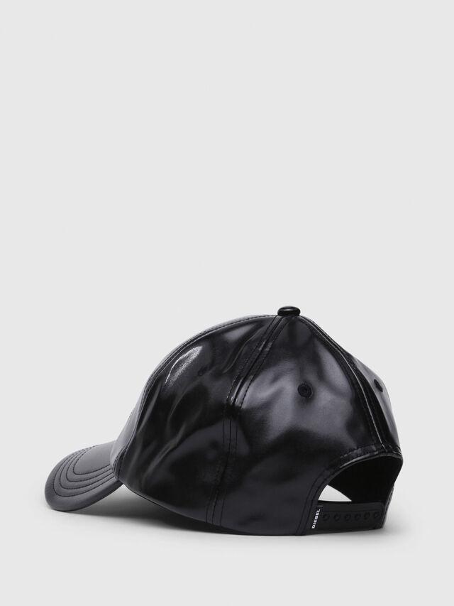 Diesel - C-RAMAX, Black Leather - Caps - Image 2