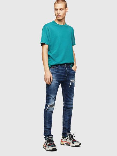 Diesel - Tepphar 0090G, Dark Blue - Jeans - Image 6