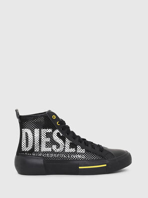 S-DESE MID CUT, Black/Yellow - Sneakers