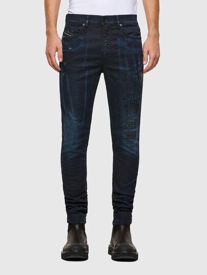 Diesel - D-REEFT JoggJeans® 069RB, Dark Blue - Jeans - Image 1