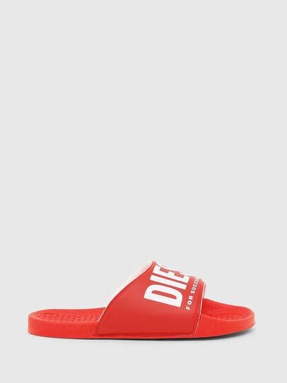 Diesel - FF 01 SLIPPER CH, Red - Footwear - Image 1