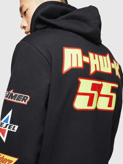 Diesel - ASTARS-S-GIR-HOOD, Black - Sweaters - Image 5