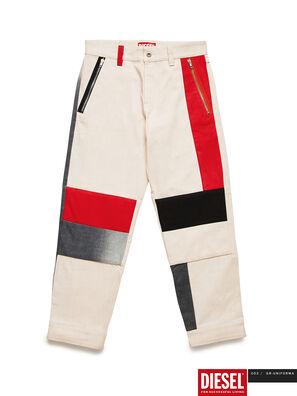 GR02-P301-P, White - Pants