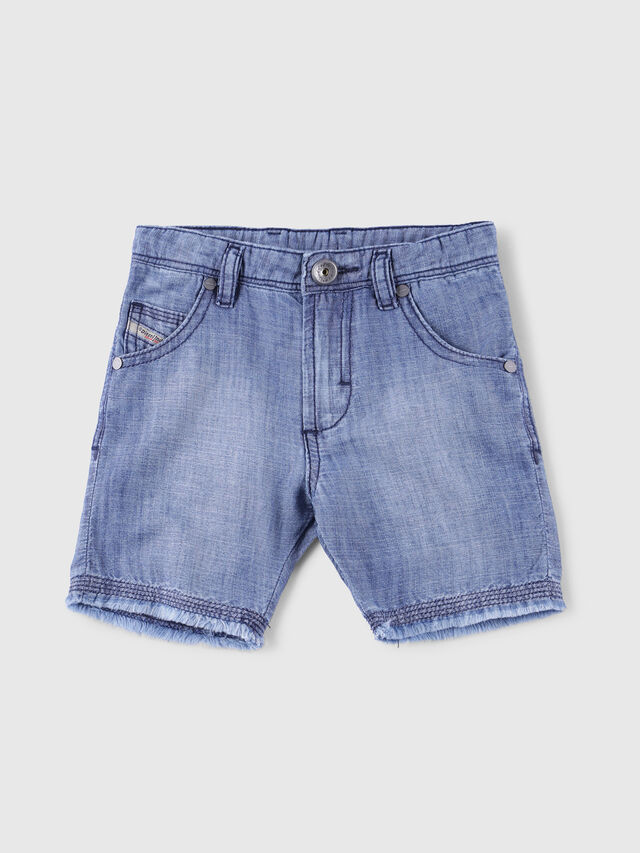 Diesel - PROOLYB-A-N, Blue Jeans - Shorts - Image 1