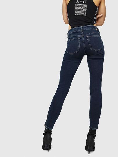 Diesel - Slandy Zip 083AM, Dark Blue - Jeans - Image 2