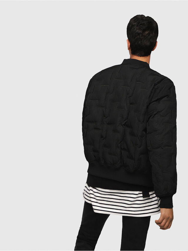 Diesel - W-TANAKA, Black - Winter Jackets - Image 2