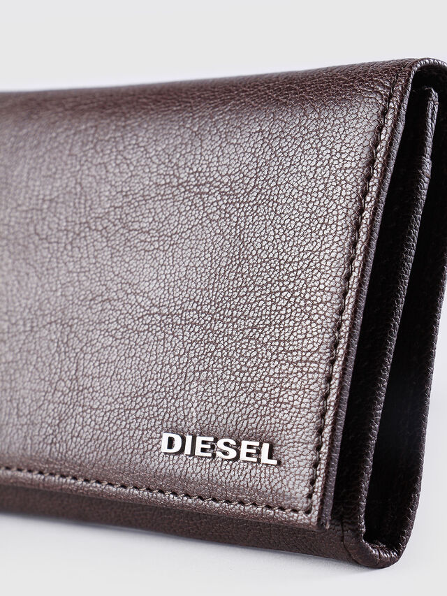 Diesel 24 A DAY, Brown - Continental Wallets - Image 3