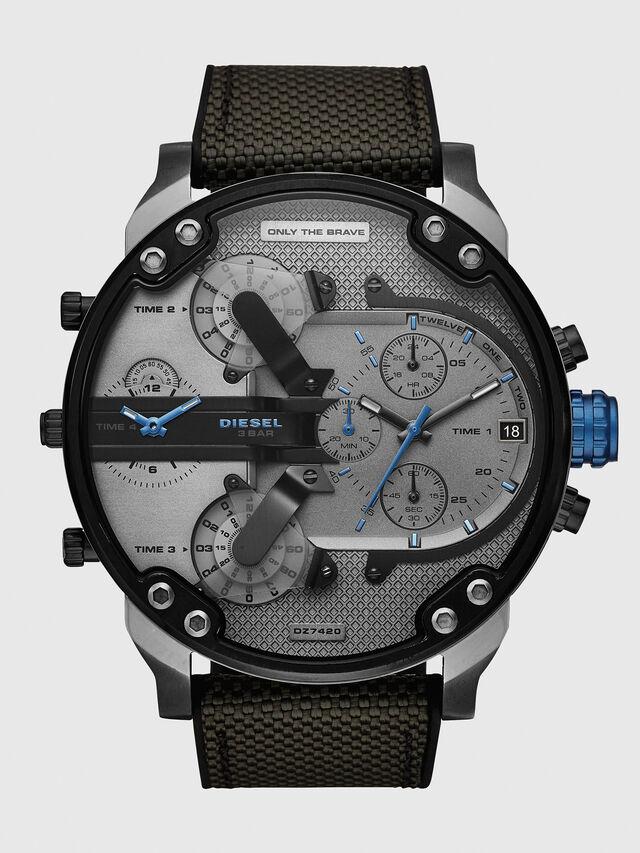 Diesel - DZ7420, Black/Blue - Timeframes - Image 1
