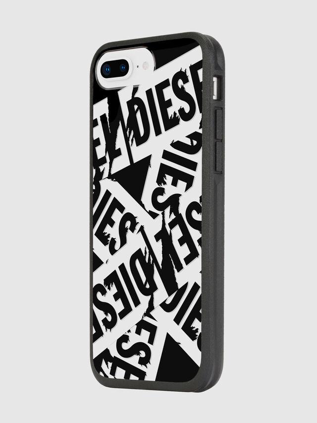 Diesel - MULTI TAPE BLACK/WHITE IPHONE 8 PLUS/7 PLUS/6S PLUS/6 PLUS CASE, Black - Cases - Image 5