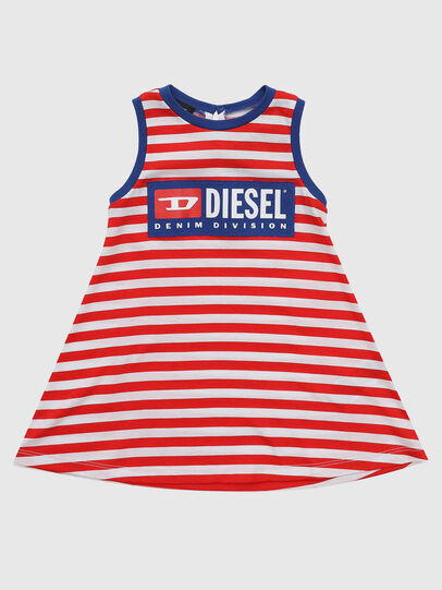 Diesel - DARIETTAB, Red/White - Dresses - Image 1