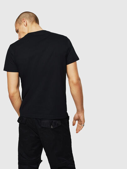 Diesel - T-DIEGO-A3, Black - T-Shirts - Image 2
