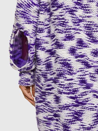 Diesel - M-HEATH, Violet/White - Knitwear - Image 5