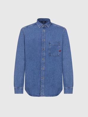 D-BILLY, Light Blue - Denim Shirts