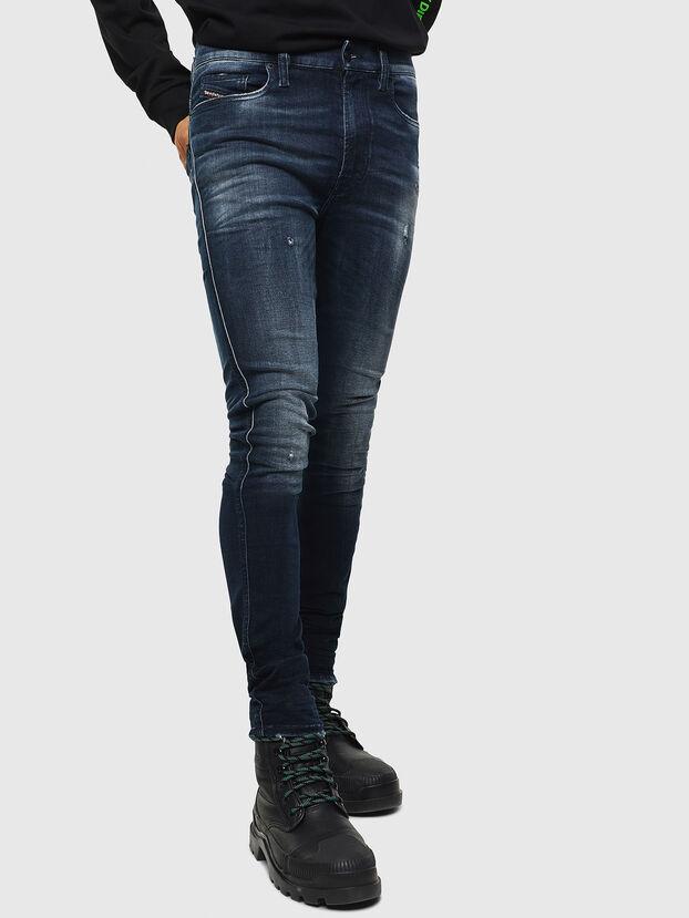 D-Istort 0098R, Dark Blue - Jeans