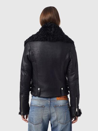 Diesel - L-MARGOT, Black - Leather jackets - Image 2