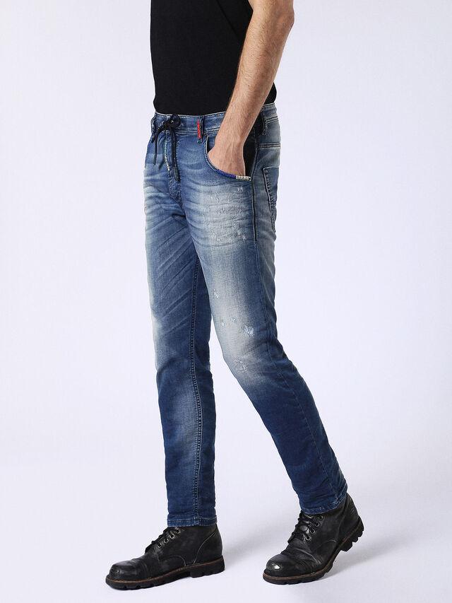 Diesel - Krooley JoggJeans 0680Y, Medium blue - Jeans - Image 7